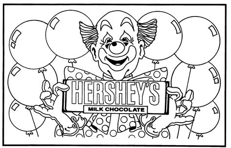 Hershey Coloring Page free coloring pages of chocolate bar