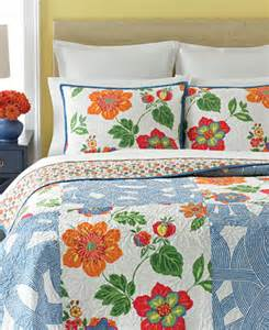 martha stewart collection wave garden quilts only at macy