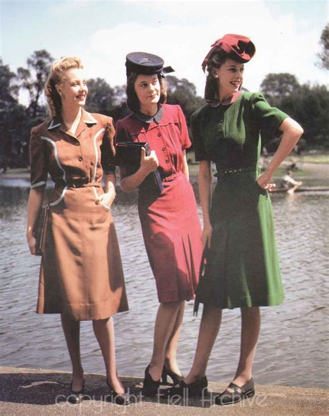 1940s Wardrobe by 1940s Day Wear On Pearl Harbor Pearl