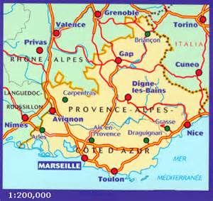 Map Of Provence France by Michelin Michelin 527 Provence Alpes Cote D Azur