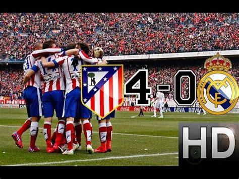 imagenes real madrid vs atletico de madrid atletico madrid vs real madrid 4 0 all goals and