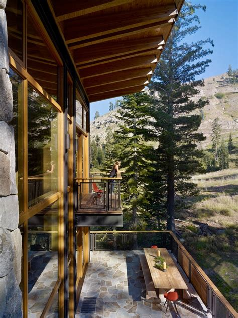 vacation house  california crows nest residence