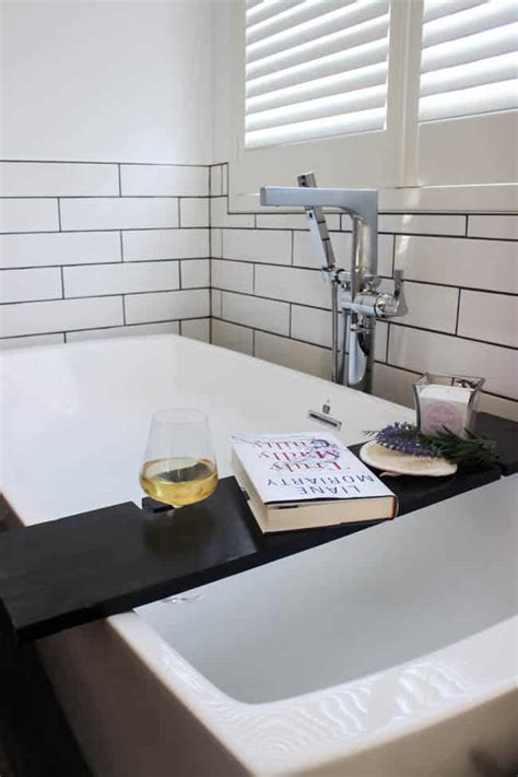 build your own table build your own bath table with wine glass holders