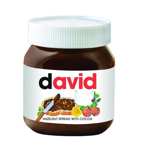 design nutella label you can now have a personalized jar of nutella with your