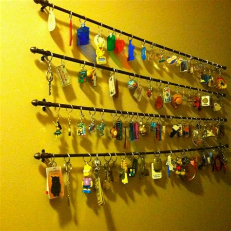 Key Chain Collection Display Made - 1000 images about keychain collection organization ideas