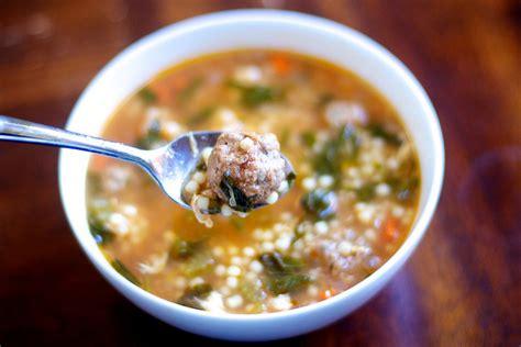 italian soup italian wedding soup recipe