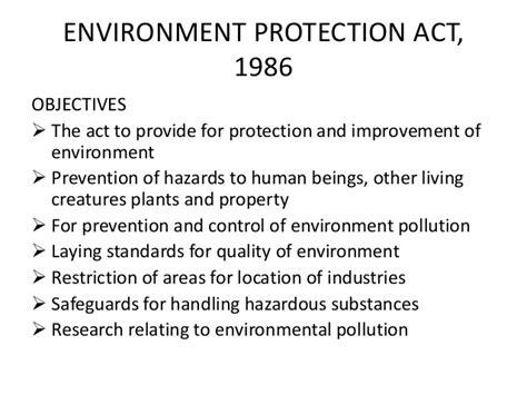 environmental protection act 1986