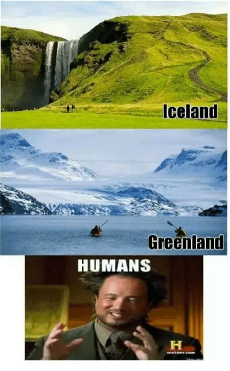 Iceland Meme - iceland greenland humans meme on sizzle