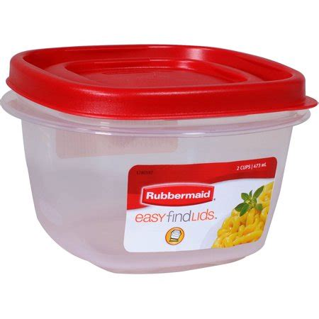 Walmart Kitchen Storage Containers by Rubbermaid Easy Find Lids Food Storage Container 1 5