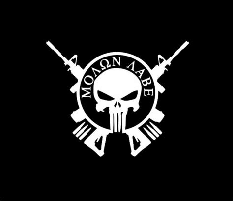 jeep punisher wallpaper punisher molon labe car window decal sticker