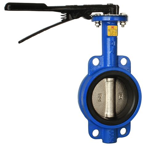 Butterfly Valve 8 Type Wafer C200 Series Wafer Butterfly Valve C C Industries Inc