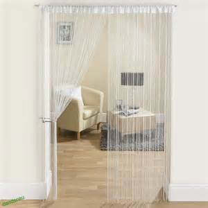 Patio Door Net Curtains String Curtains Patio Net Fringe For Door Fly Screen Windows Divider Cut To Size Ebay