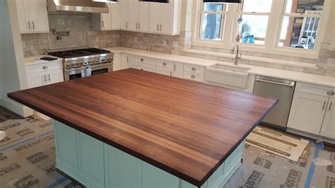 How To Care For Wood Countertops by Walnut Butcher Block Countertops Med