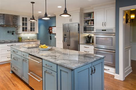 Kitchens With Painted Cabinets Trend In Kitchen Remodeling Painted Cabinets Kitchen Kraft Inc