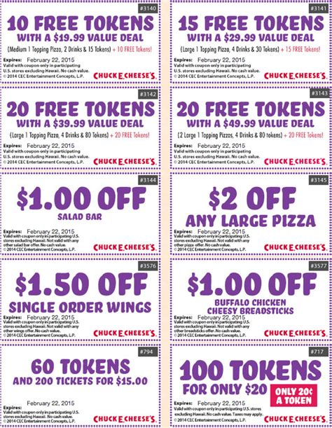 pers printable coupons september 2015 chuck e cheese coupons september 2017 printable coupons