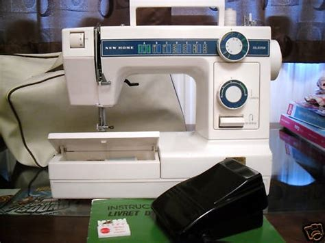 janome new home model 346 sewing machine
