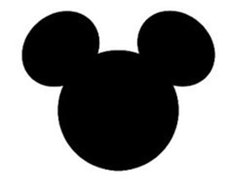 mickey mouse silhouette template mickey mouse template out of darkness