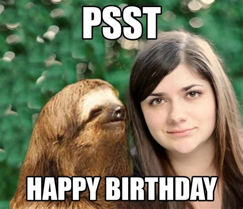 Funny Memes For Her - happy birthday funny meme images birthday hd images