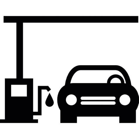 Was Ist Eps Beim Auto auto in einer tankstelle der kostenlosen icons