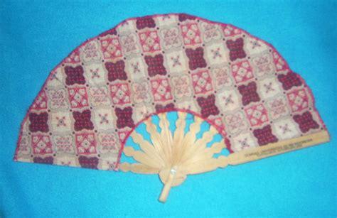 Souvenir Kipas Batik Panjang 19 Cm kipas lannish souvenir