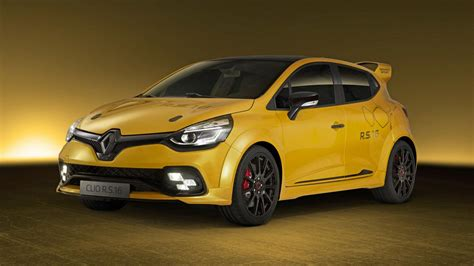 this is the 271bhp renault sport clio rs16 top gear