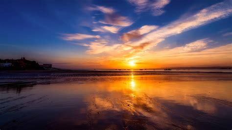 kostenlose bild wasser meer sonnenaufgang strand