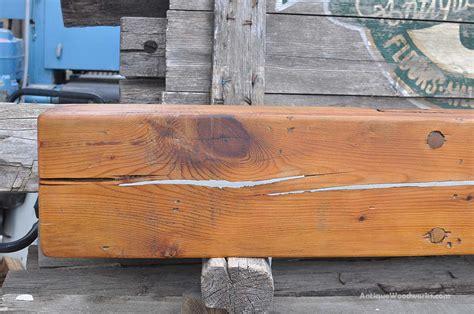poured metal pine fireplace mantel cuba antique woodworks