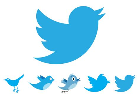 twitter at 10 and the evolution of the twitter logo the geometric evolution of the twitter bird 56pixels com