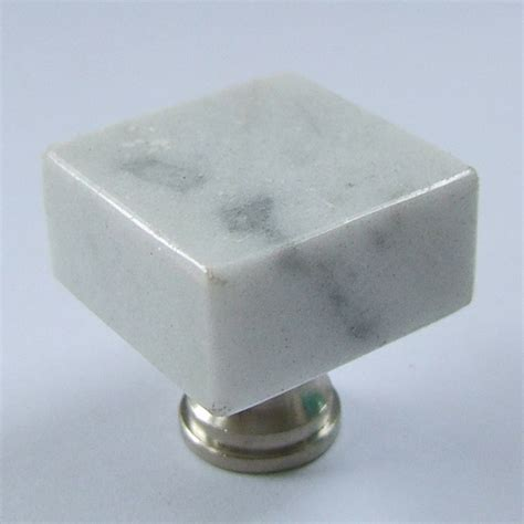 bianco carrara white granite knobs and handles for