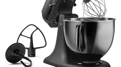 kitchenaid limited edition mixer kitchenaid introduces limited edition artisan 174 black tie stand mixer