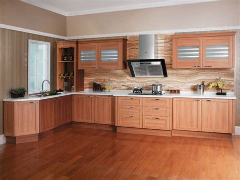 Wood Grain Kitchen Cabinets by Picking The Right Color For Your Kitchen Cabinets Ideas