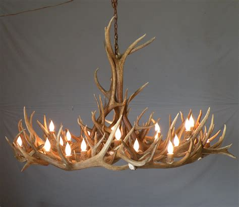 How To Make A Deer Horn Chandelier 12 Inspirations Of Modern Antler Chandelier