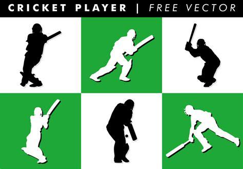 cricket free cricket player free vector free vector