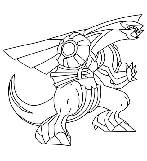 pokemon coloring pages dialga free coloring pages of s of dialga and palkia