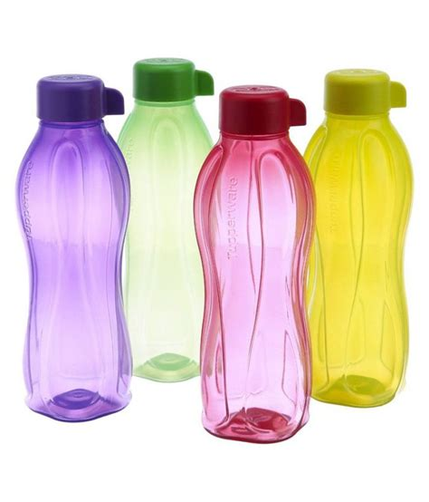 Tupperware Eco Bottle 4 Tali tupperware multicolour water bottles set of 4 buy at best price in india snapdeal