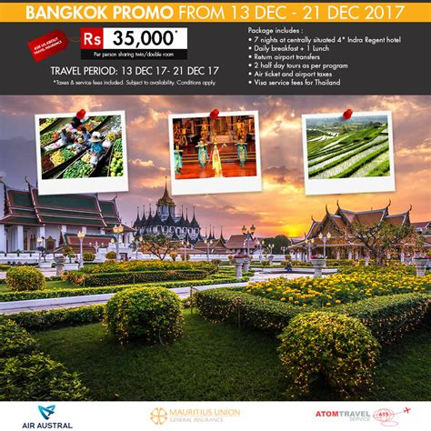 bangkok packages travel bangkok tour package bangkok bangkok promo package december 2017 atom travel
