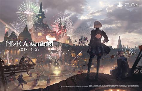 wallpaper game deemo nier automata artwork commemorates 500 000 ps4 shipments