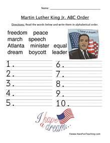 martin luther king jr worksheets have fun teaching