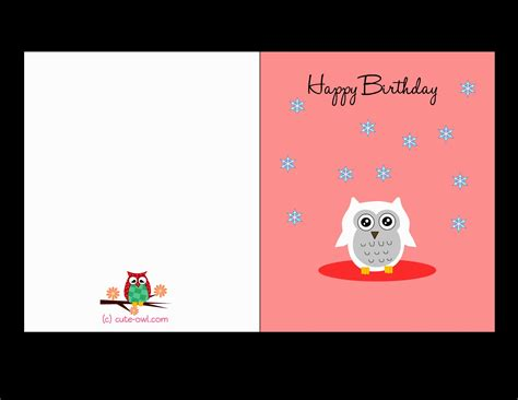 inspirational print out birthday card design best