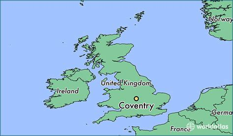 map uk coventry where is coventry coventry map