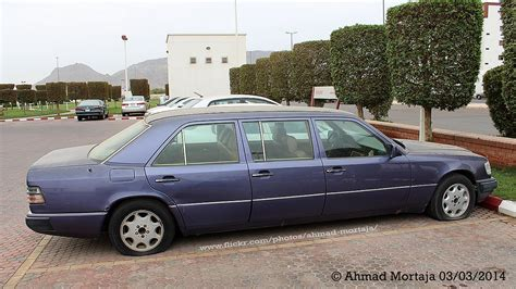 6 Door Mercedes by Mercedes E260 6 Door Stretch Limousine W124 1990