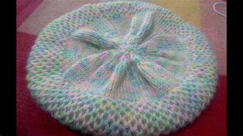 topi wanita hat knitted warna 3 knitting topi cap part 1