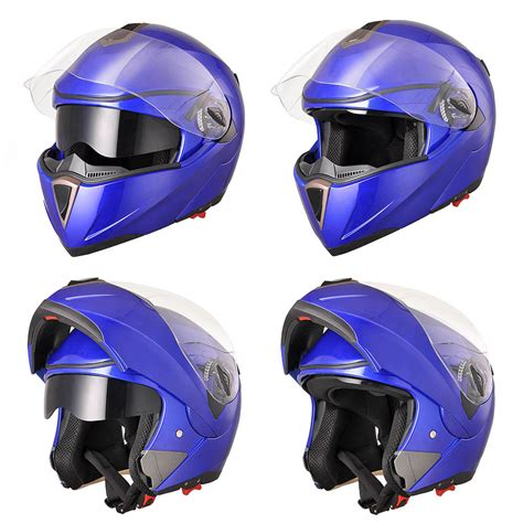 motocross helmet visor dot full face flip up motorcycle helmet dual visor bike