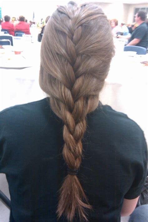 how to keep braids from coming a loose at ends loose french braid hair pinterest braids french