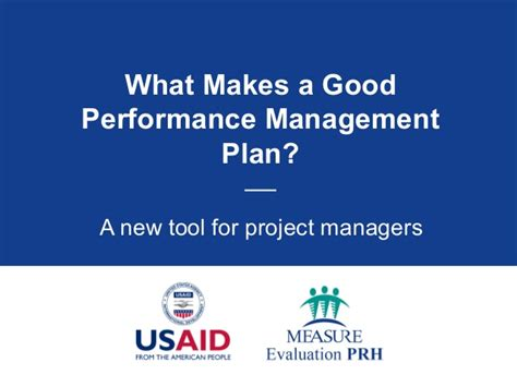 what makes a good home what makes a good performance management plan a new tool