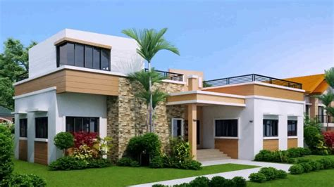 modern house design in pinoy with attic bungalow house design with rooftop
