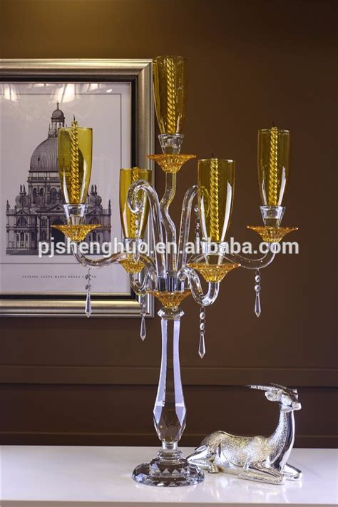 Large Candle Holders For Dining Table Big Restaurant Table Ls Candelabra Candle