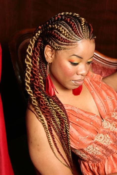 large african hairbraids my new favorite style corn rows twists and the colors