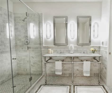 double sinks for small bathrooms beautiful abodes small bathrooms can have double sinks