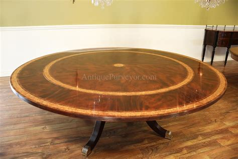 round dining room tables with leaves large round mahogany dining room table with perimeter